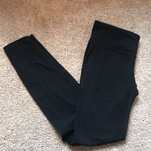 Black Gap Fit leggings